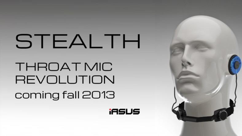 iASUS Concepts Stealth Throat Mic Update