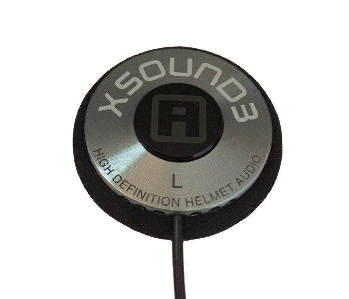 XSound 3 Helmet Speaker - Left