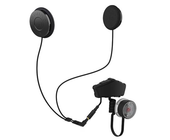 bluetooth helmet comm REKON with IASUS XSound 2.1 helmet speaker