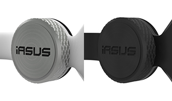 IASUS throat mic transponder
