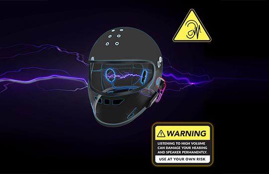 helmet amplifier