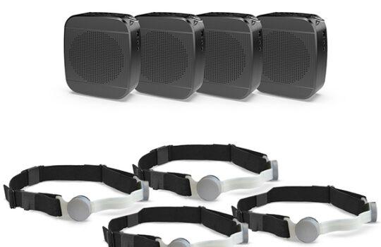 ppe mic with speaker kit - ten-4 iasus - 4 pack