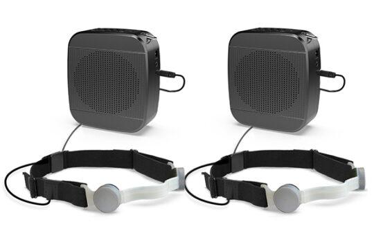 ppe mic with speaker kit - ten-4 iasus - dual kit